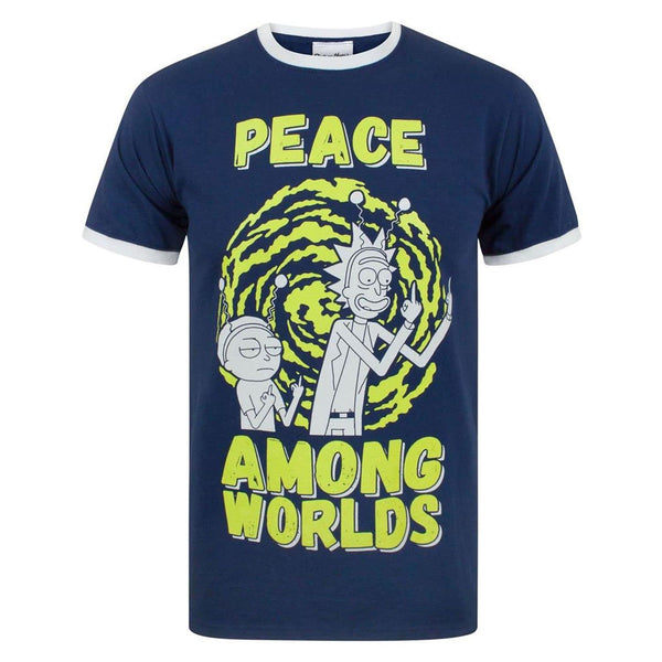 Rick & Morty ''Peace Among Worlds'' T-krekls