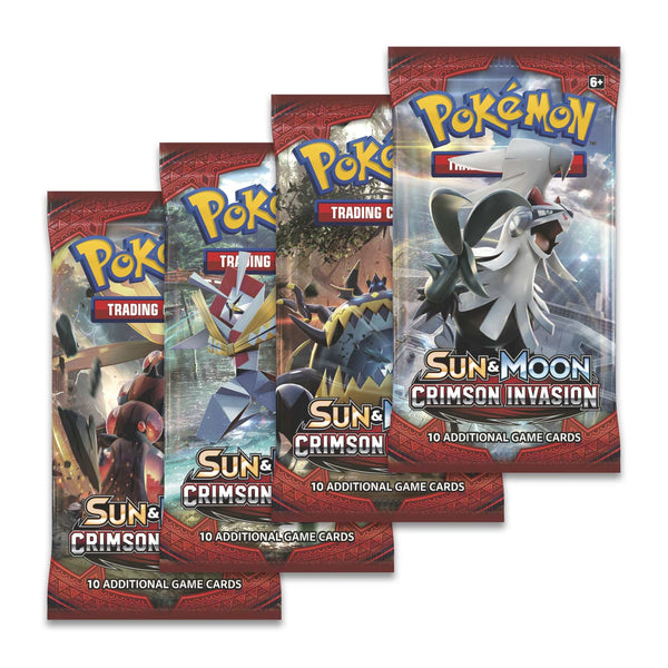 Pokemon Sun & Moon 4 Booster