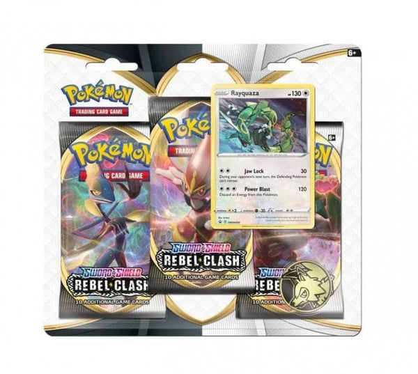 Pokémon Sword & Shield: TCG Rebel Clash 3 booster blister