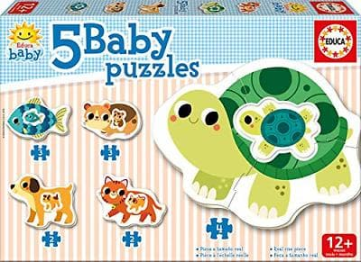 Puzle - Baby Puzzle: ANIMALS