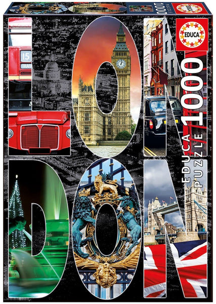 Puzle, 1000 - LONDON COLLAGE