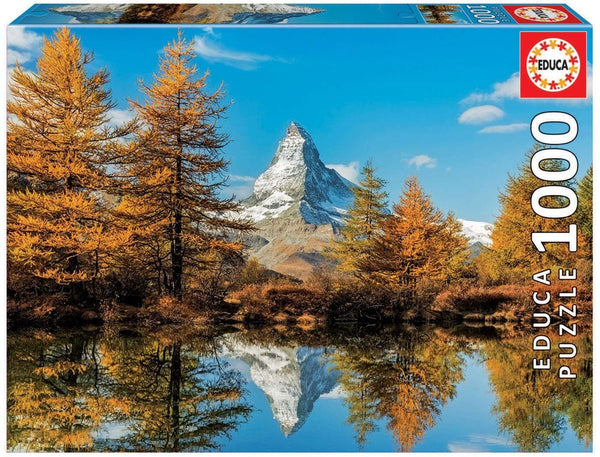 Puzle, 1000 - MATTERHORN MOUNTAIN IN AUTUMN