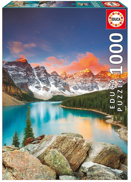 "Educa Puzle ""Moraine Lake, Banff National Park, Canada"", 1000 gab."