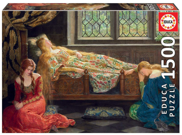Puzle, 1500 - SLEEPING BEAUTY, JOHN COLLIER