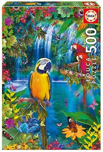 Puzle, 500 - Bird Tropical Land