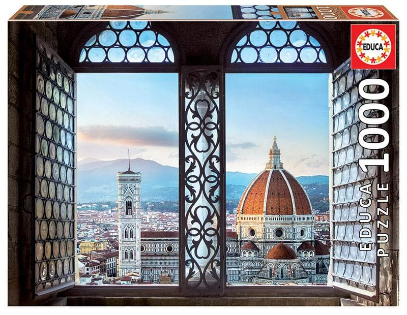Puzle, 1000 - VIEWS OF FLORENCE, ITALY