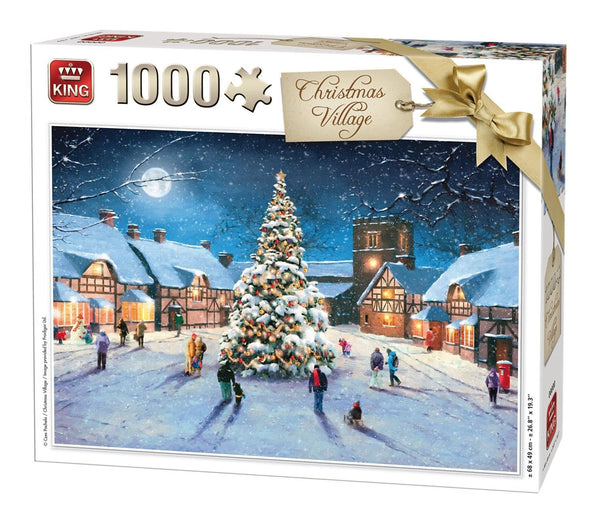 Puzzle Christmas Village 1000 pcs