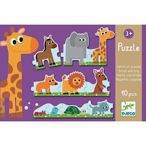 Puzzle Duo: Small and Big, puzle