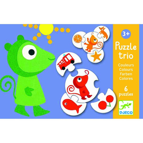 Puzzle Trio: Colors, puzle