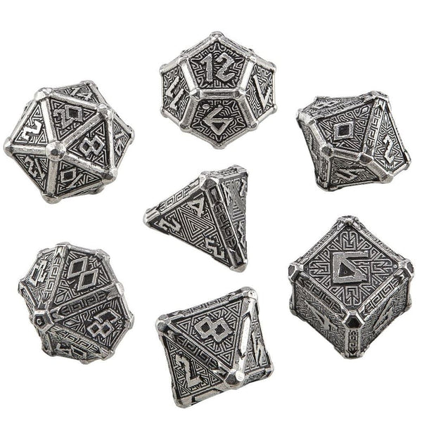Q-Workshop Mythical Metal dice set