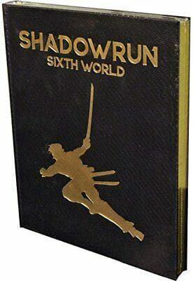 Shadowrun: Sixth World Core Rulebook (Limited Edition)
