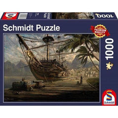 Puzle, 1000 - Ship at Anchor