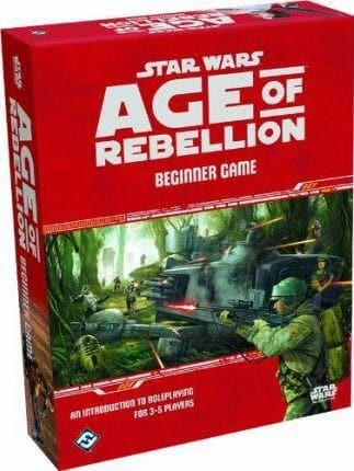 star wars age of rebellion, beginner game, galda spele
