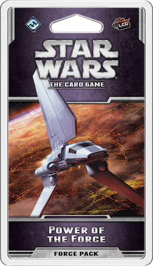 Star Wars, LCG: Power of The Force, galda spēle