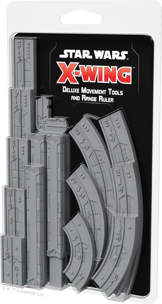 star wars x wing, movement rools and range ruler, galda spele