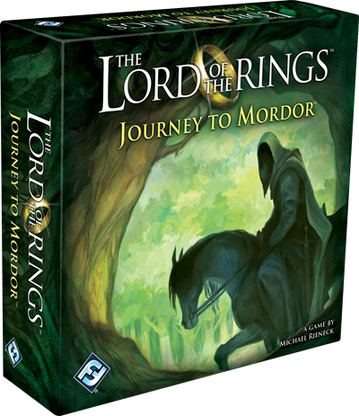 The Lord of the Rings - Journey To Mordor, galda spēle