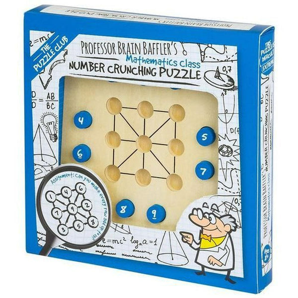 The Puzzle Club Professor Brain Baffler Number Crunching