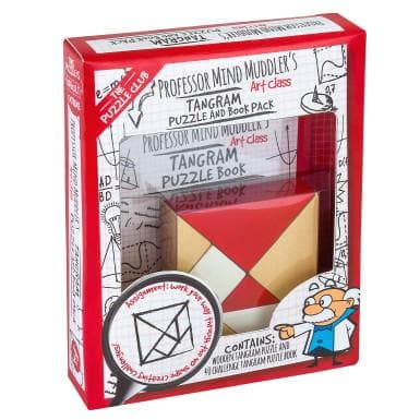 The Puzzle Club Professor Mind Muddler's Tangram Puzzle
