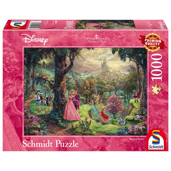 Puzle, 1000 - Thomas Kinkade, Painter of Light: Disney Sleeping Beauty