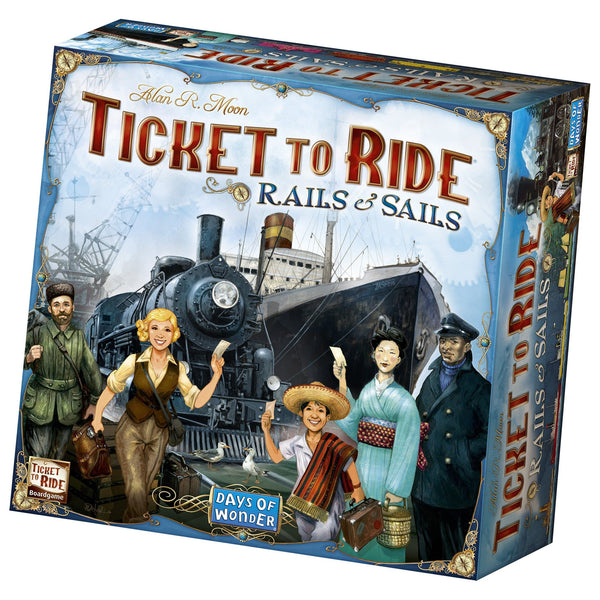 Ticket to Ride: Rails & Sails, galda spēle