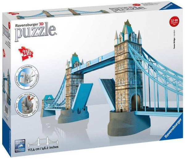 3D puzle Tower Bridge