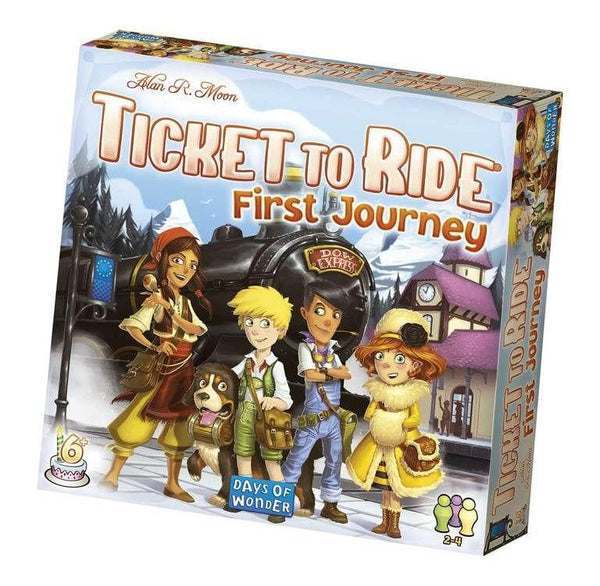 Ticket To Ride: First Journey (Europe) (Nordic)