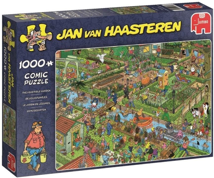 JvH The Vegetable Garden 1000