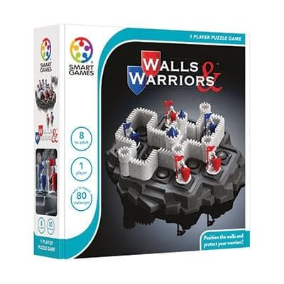 walls and warriors, smart games, galda spele