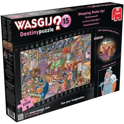 Wasgij Destiny: Shopping Shake Up, 1000, puzle