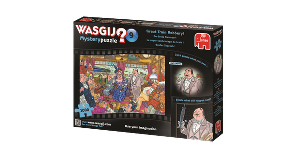 Wasgij Mystery: Great Train Robbery, 1000, puzle