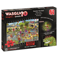 Wasgij Mystery: Monster Fun Day, 100, puzle