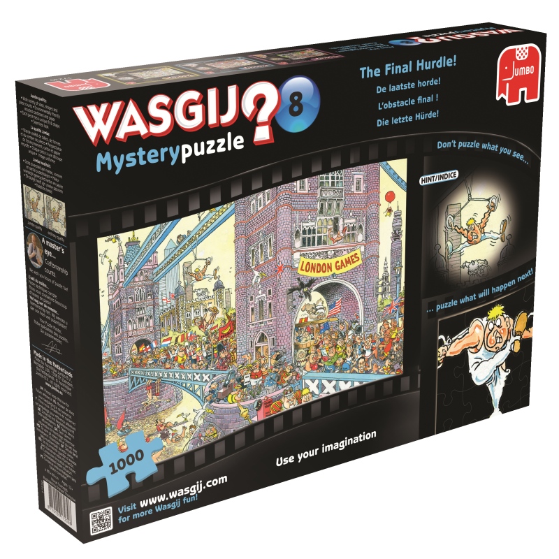 Wasgij Mystery: The Final Hurdle, 1000, puzle