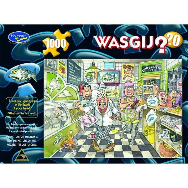 WASGIJ Original: Fishy Business, 1000, puzle