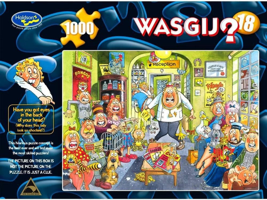 Wasgij Original: Uproar at the Vets!, 1000, puzle