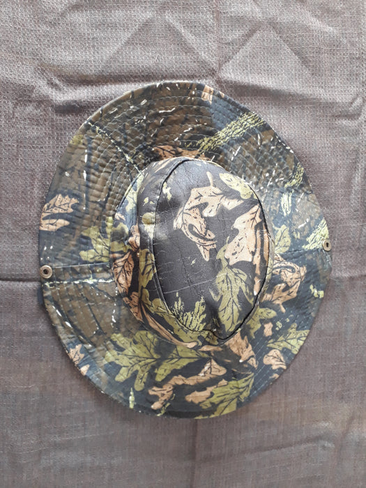 Safari Hat - Camouflage