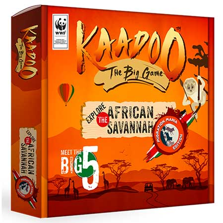 Wildlife Board Game Kaadoo - The Big Game