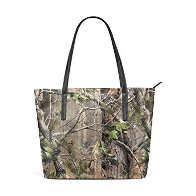 Jungle Print Tote Bag Waterproof