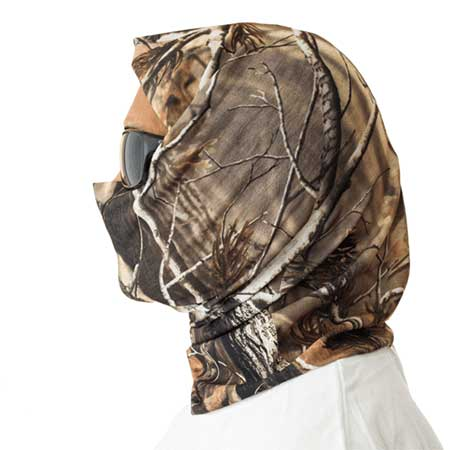 Elastic Neck Scarf Neck Gaiter for Photography in Camouflage | Nature Lounge