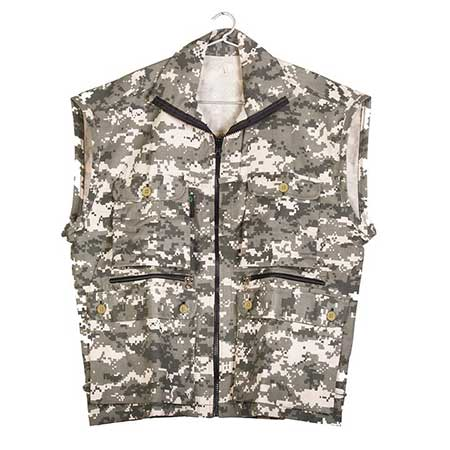 Photography Jacket outdoor wear in Brown Camouflage Digital print | Nature Lounge