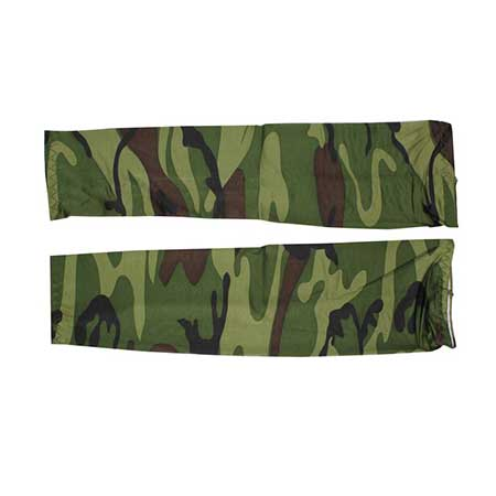 Camouflage Arm Sleeves - Stretchable (1 Pair) | Nature Lounge