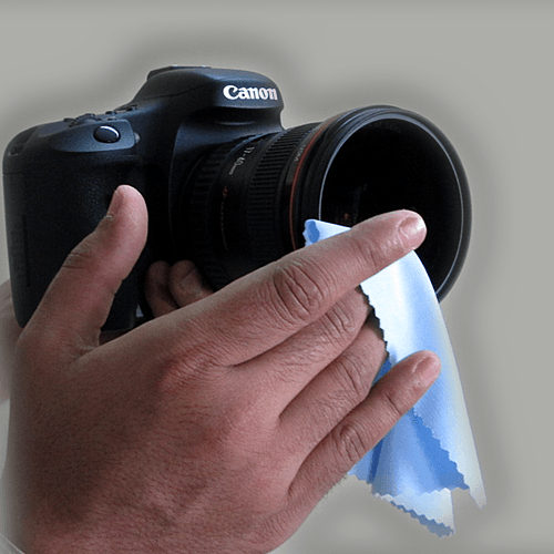 Microfiber Cloth Remove Scratches: Microfiber Lens Cleaning Cloth For Camera Equipment