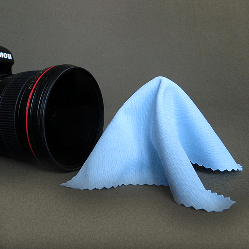 Microfiber Lens Cleaning Cloth For Camera Equipment