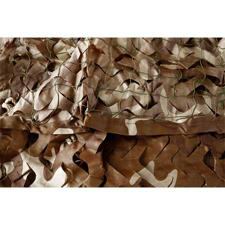 Camouflage Netting Camo Net brown | Nature Lounge