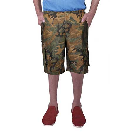 Men's Camouflage Shorts