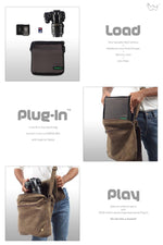 Plugin Camera Sling Bag - Feature view