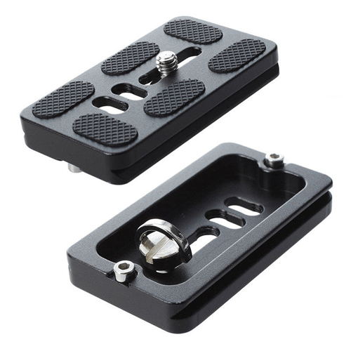 Quick Release Plate - 70 - Top + Bottom view