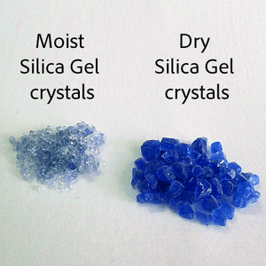 Dessicant Silica Gel - Color Indicating