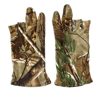 Finger Free Photography Gloves in Camouflage print | Nature Lounge