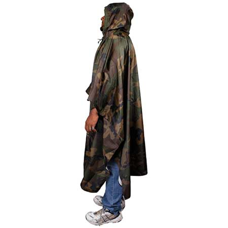 Camouflage Waterproof Poncho