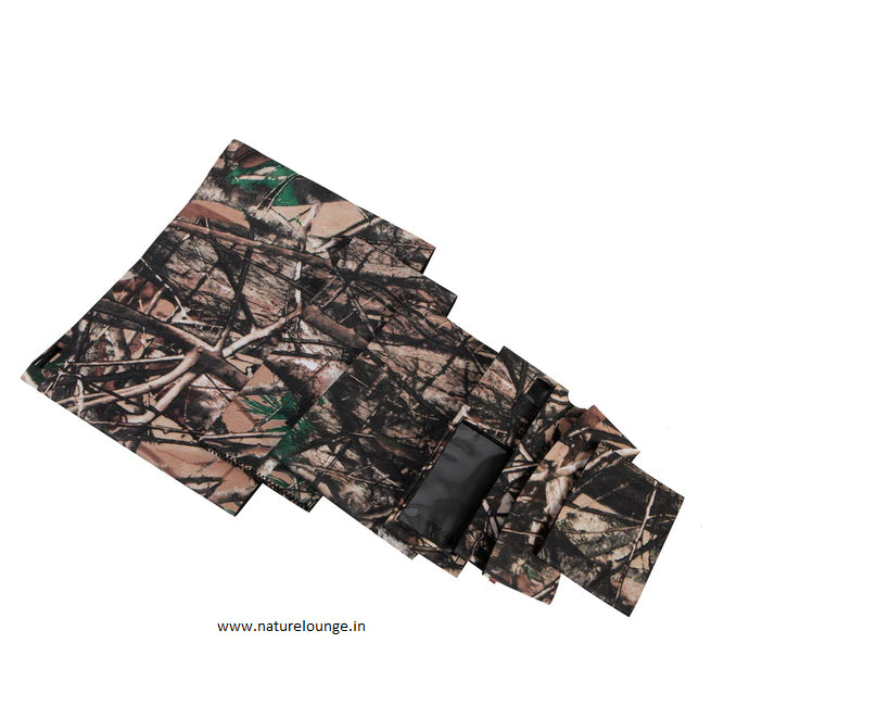 Camouflage Lens Sleeve for Canon 600mm F/4 IS II